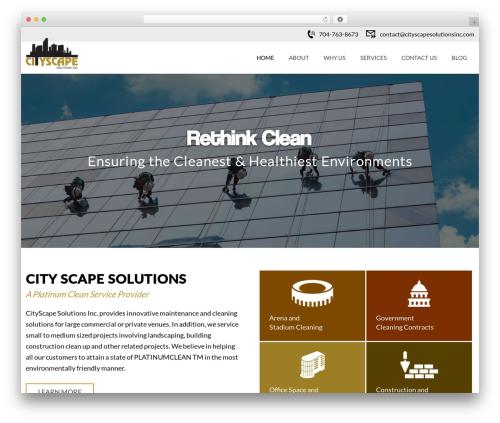 Cityscape business WordPress theme - cityscapesolutionsinc.com