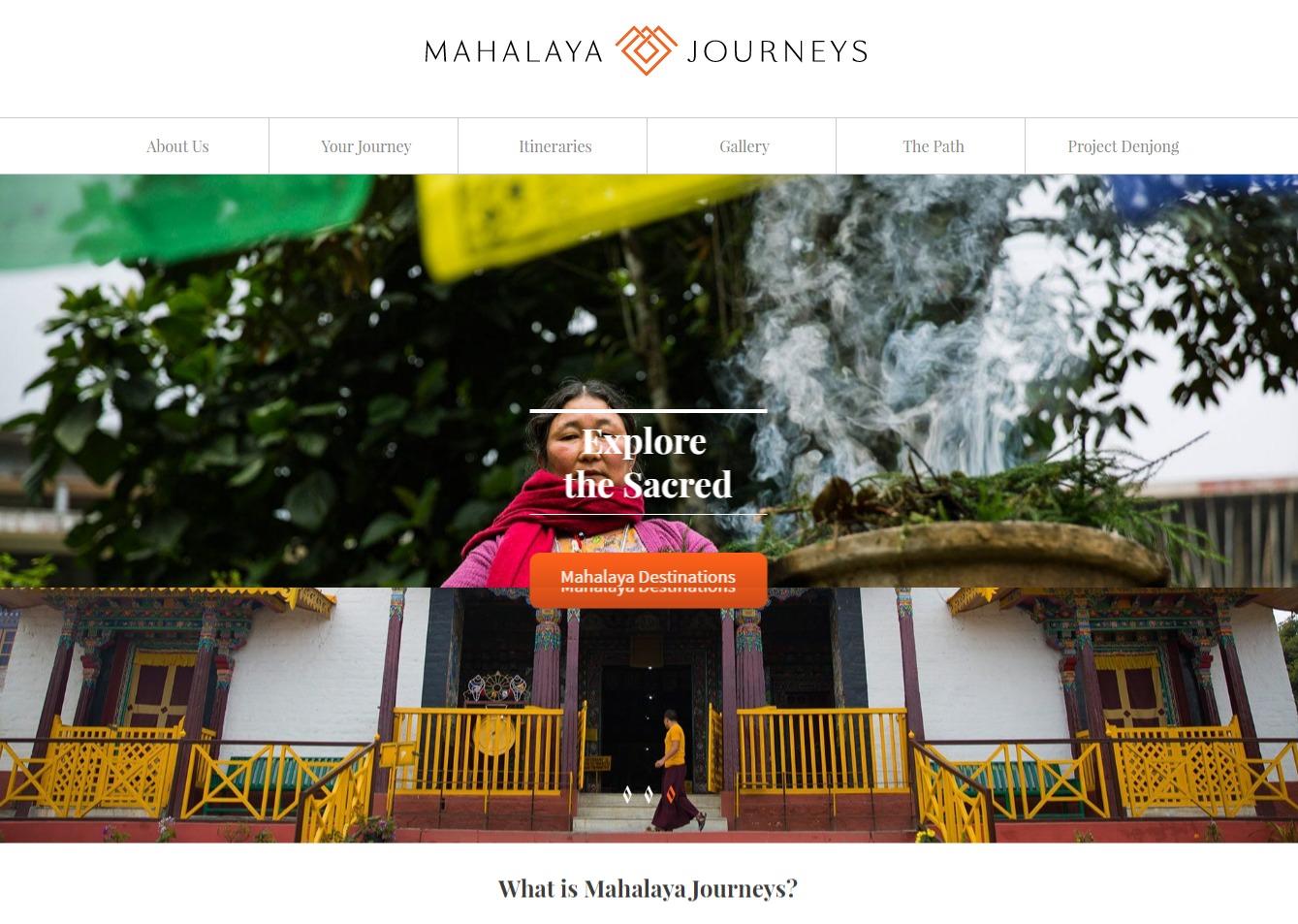 WordPress theme mahalaya