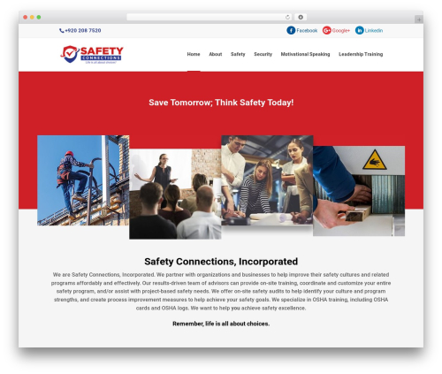 Best WordPress theme Divi - safetyconnections.com