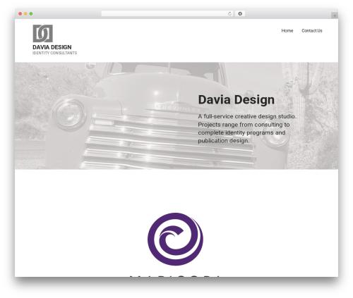 WP template Mins - daviadesign.com