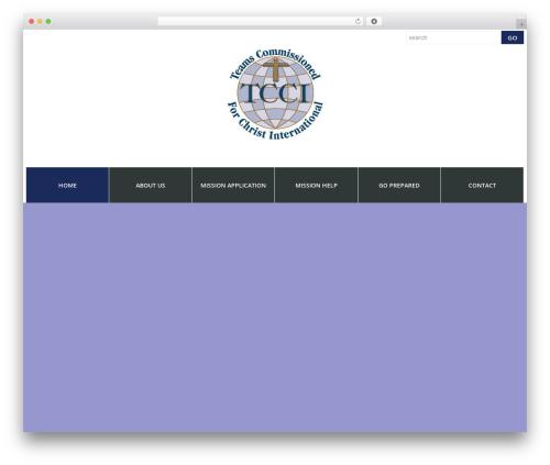 cherry WordPress theme - tcci.org