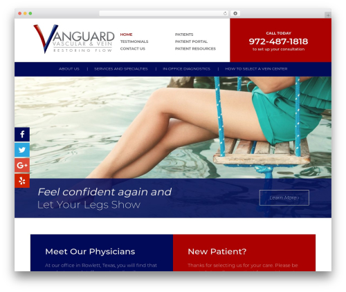 CS Radix WP template - thevanguardway.com