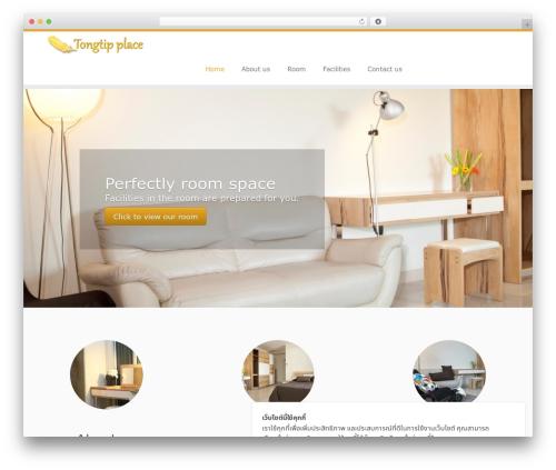Customizr WordPress theme design - tongtipplace.com