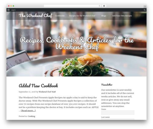 WordPress pdf-print-pro plugin - theweekendchef.com