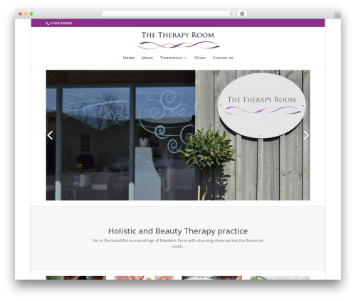 Divi WP theme - the-therapyroom.co.uk