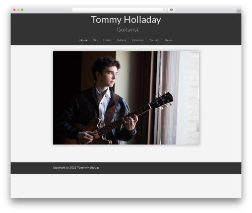 Free WordPress My Quicktags plugin - tommyholladay.com