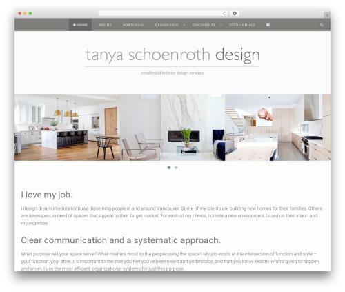EasyNote theme WordPress - tanyaschoenroth.com
