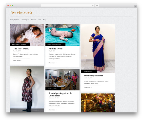 Gridly template WordPress - themulpuris.com