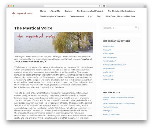 Responsive WordPress theme free download - themysticalvoice.com
