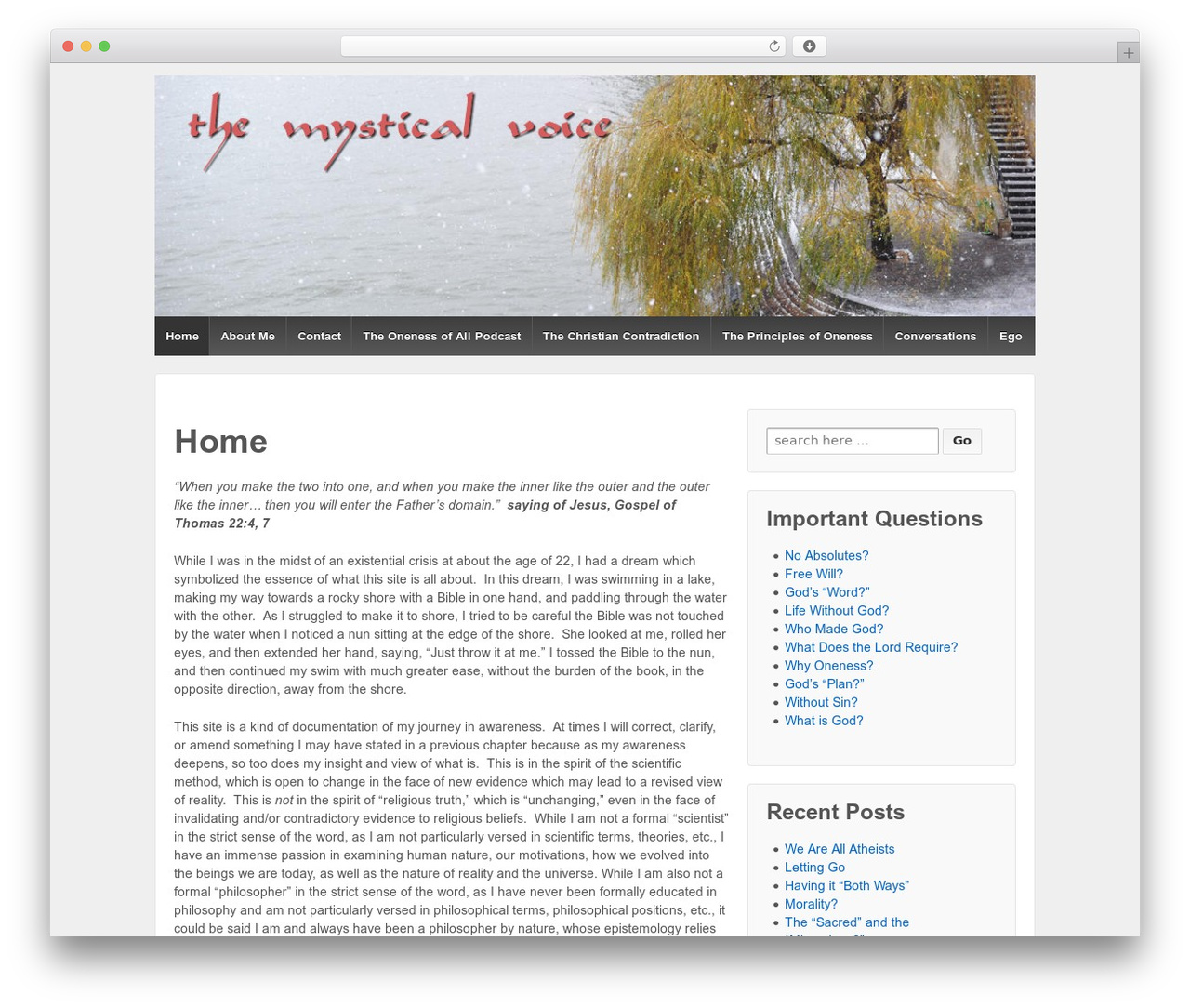 Responsive WordPress theme free download - themysticalvoice.com