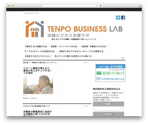 The Daily Press theme WordPress - tenpolab.com