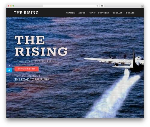 Theme WordPress X - therisingfilm.tv