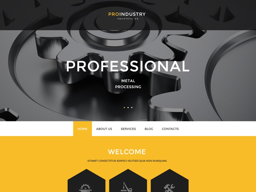 WP template theme54938