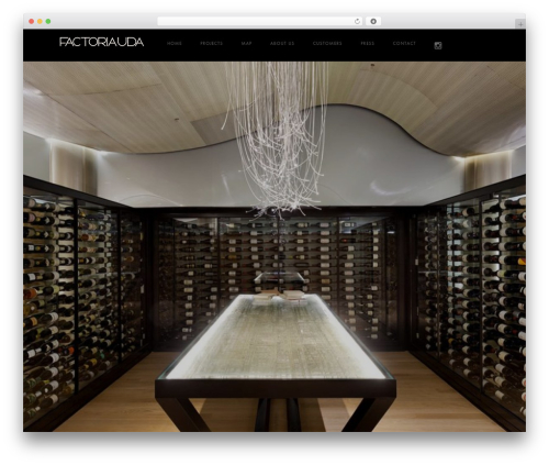 Domik WordPress theme - factoria-uda.com