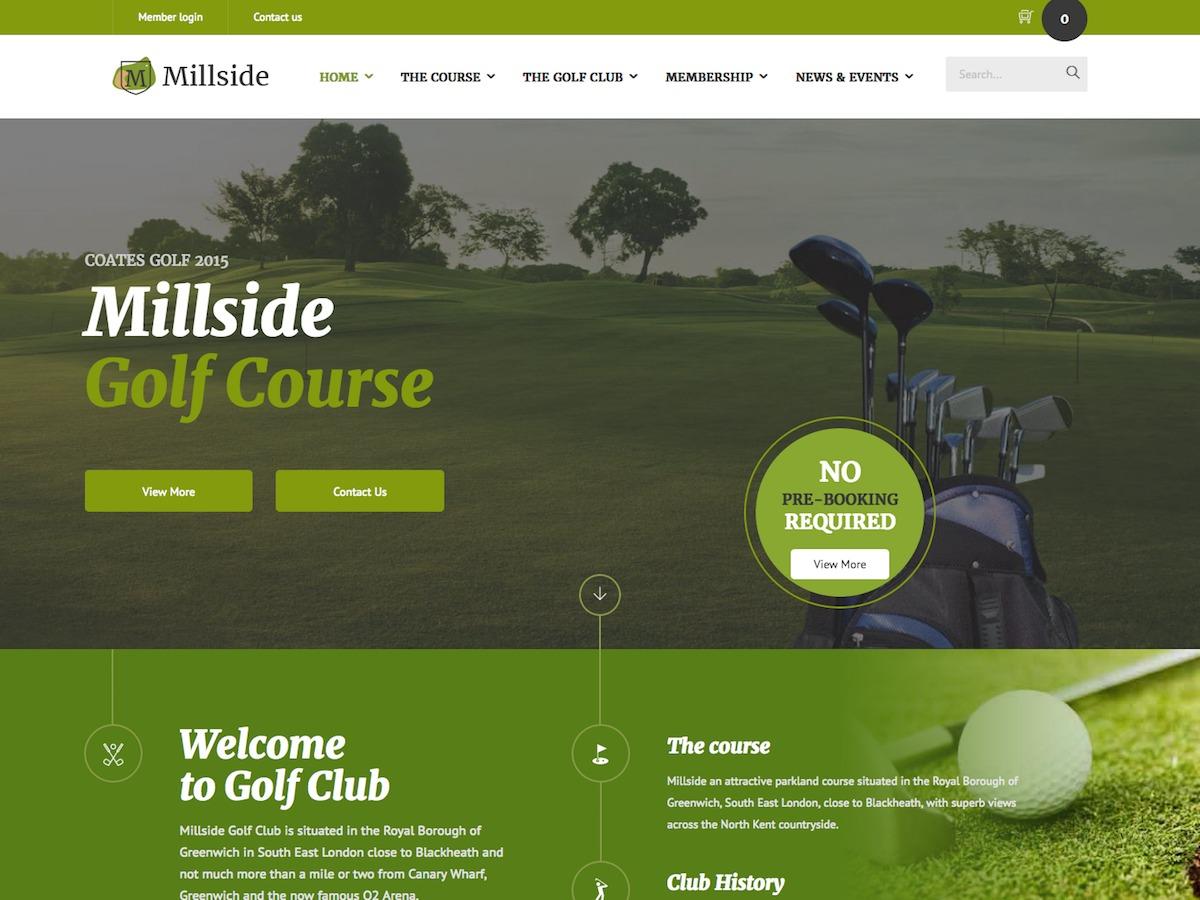 Millside Child wallpapers WordPress theme