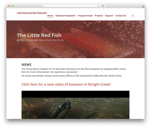 Salient WordPress theme - lakesammamishkokanee.com