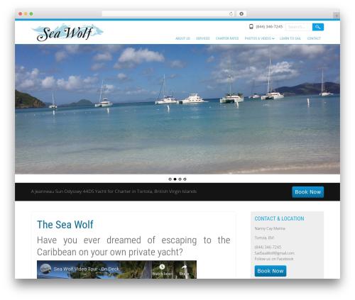 Selfie WordPress theme - sailseawolf.com