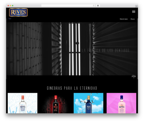 WordPress theme StylePark - spanishgintonic.com