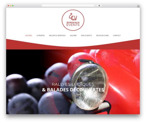 Betheme WordPress theme - 2cv-bordeaux-events.com