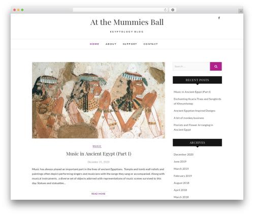 Edge free WordPress theme - atthemummiesball.com