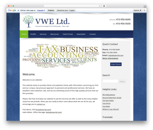 Theme WordPress Customized - vwe-ltd.com