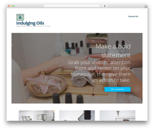 WP template Ascension - indulging-oils.com