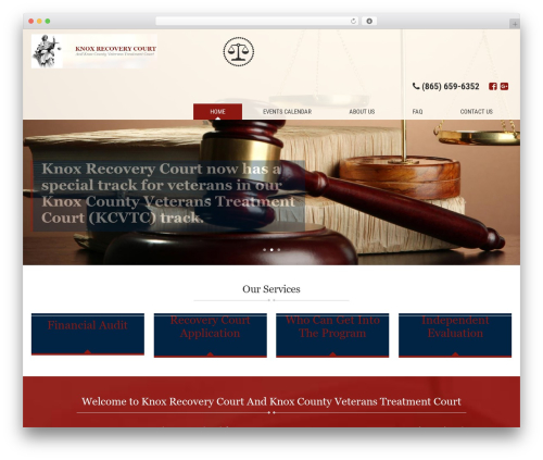 WP template Client Theme - knoxdrugcourt.org