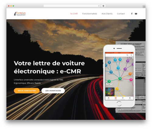Impreza premium WordPress theme - ecmrmobile.com