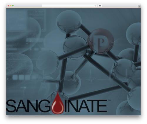 Zoo WordPress theme - sanguinate.com