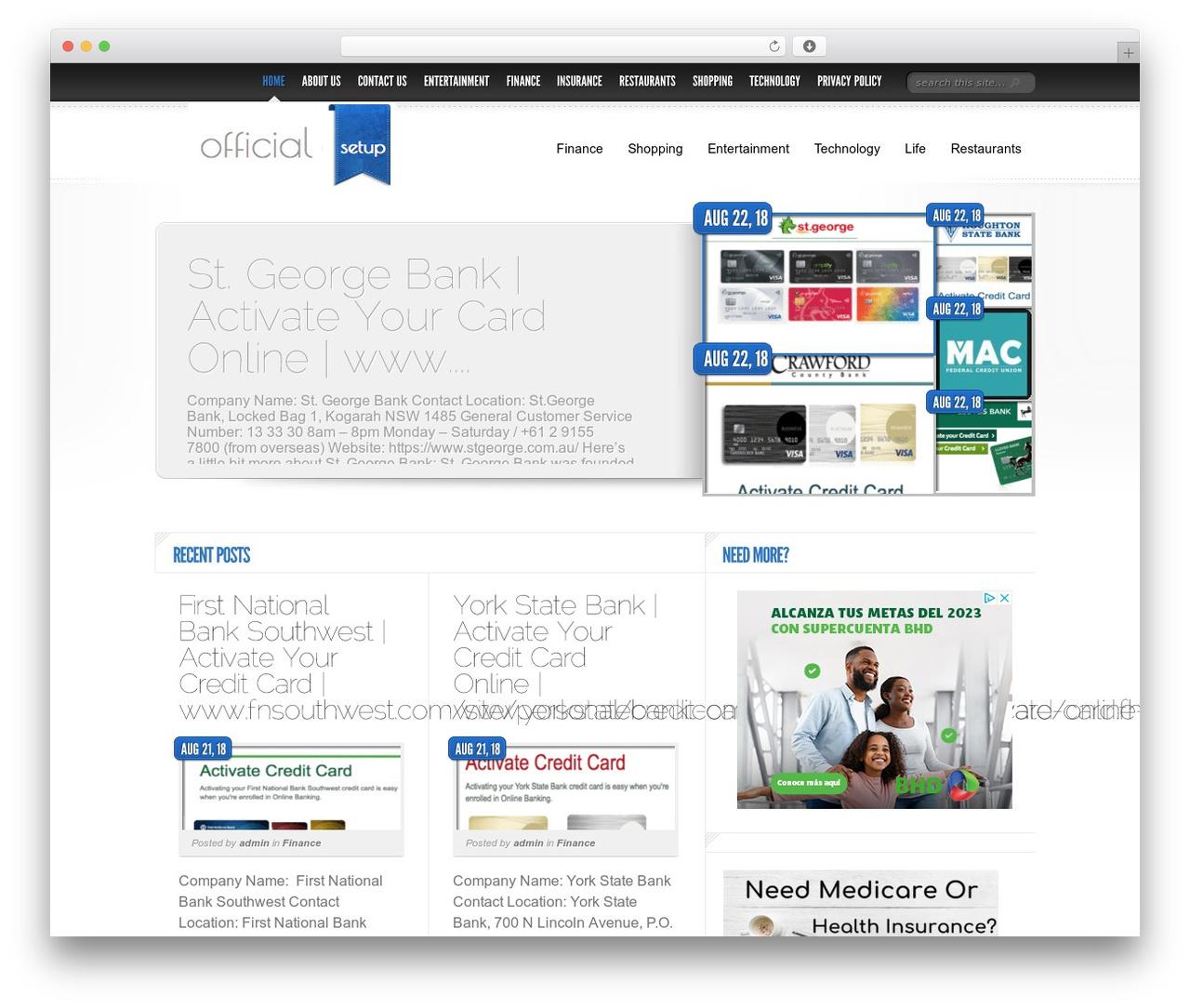 Delicate News WordPress news template - officialsetup.com