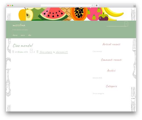 Handdrawn-lite WordPress theme - icoccini.com
