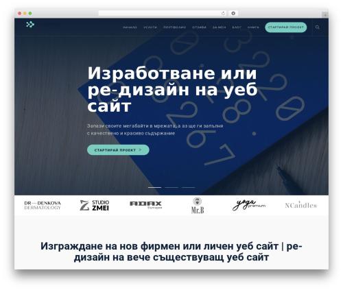 Modular template WordPress - acceler8design.com