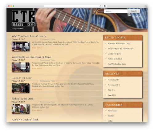 SKT Coffee WordPress template free - capptonreid.com