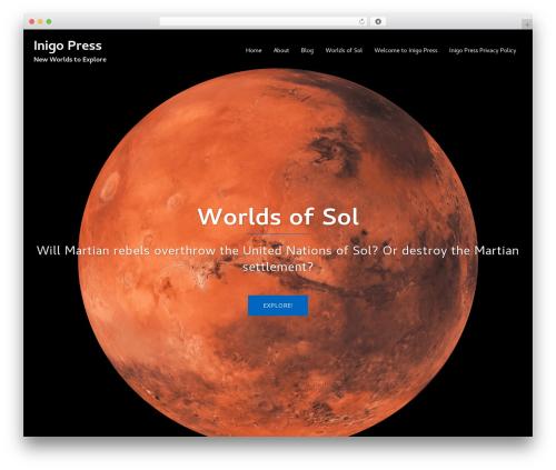 Sydney best free WordPress theme - inigopress.com