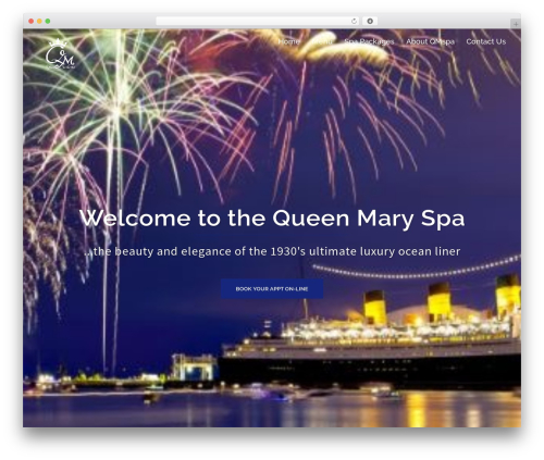 Sydney template WordPress free - queenmaryspa.com