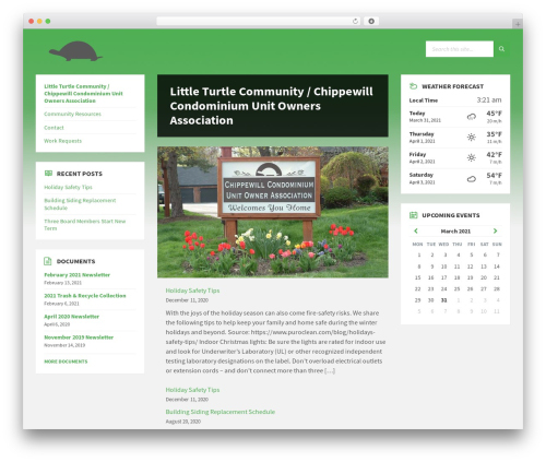 TownPress WP theme - littleturtle.com