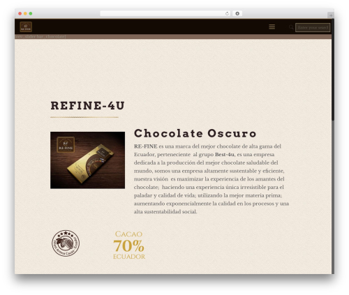 Betheme template WordPress - refine-4u.com