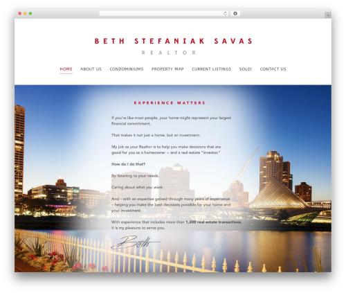 Chester WordPress real estate - bethsavas.com