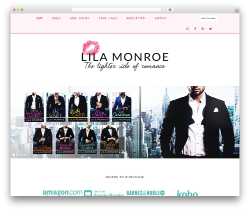 Novelty Theme best WordPress theme - lilamonroebooks.com