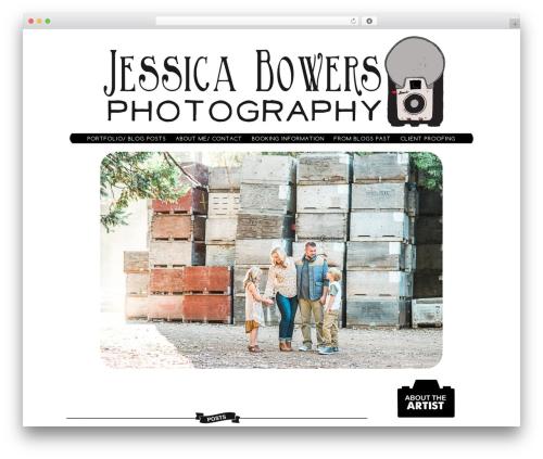 ProPhoto WordPress theme - jessicabowersphotography.com