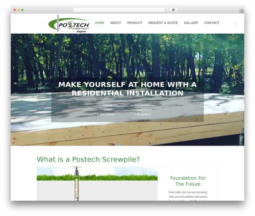 Template WordPress Chester - postechkingston.com