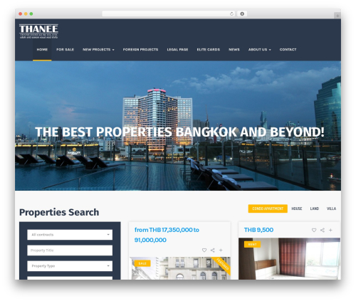 ApusHome WordPress theme - thanee.estate