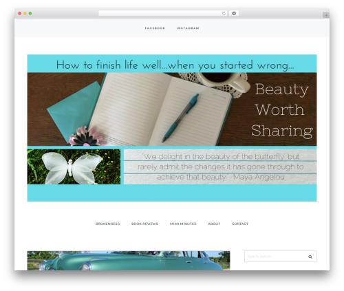 Carbis theme WordPress - beautyworthsharing.com