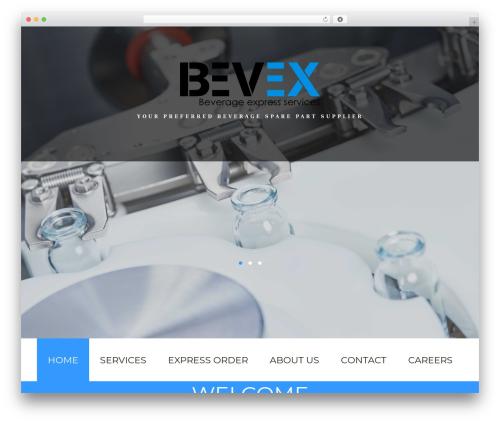 cherry WordPress theme - bevexservices.com