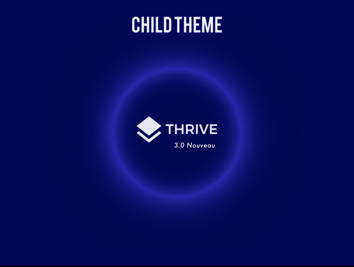 Theme WordPress Thrive Nouveau Child