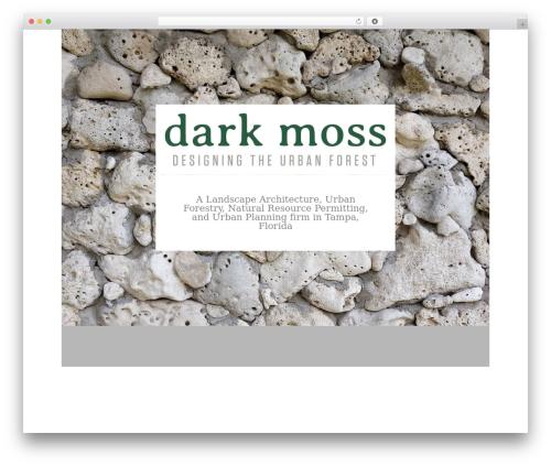 Architecturer landscaping WordPress theme - darkmoss.com