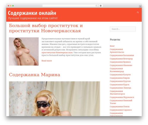 Bekko WordPress theme - luxdacha.com