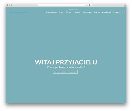 Divi WordPress theme - wakeforfriends.pl