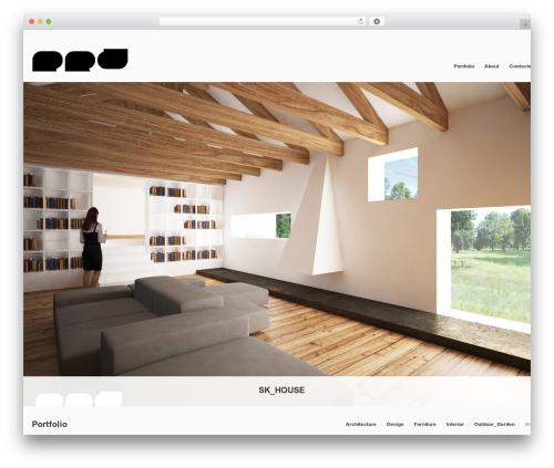 Template WordPress Egofolio - pietrorizzodesigner.com