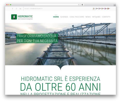 Theme WordPress Divi - hidromatic.it